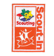 Scout-In badge op je Scoutfit