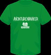 T-shirt Avonturenmaker 2020 kelly green